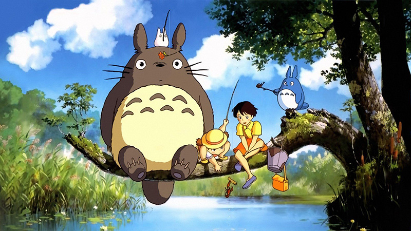 Celebrate Studio Ghibli With Classic Films Like My Neighbor Totoro, Howl's Moving Castle and Spirited Away
