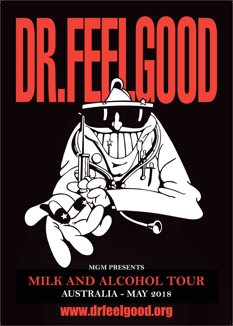 I Feel Good! Dr Feelgood Hits Canberra Come This May