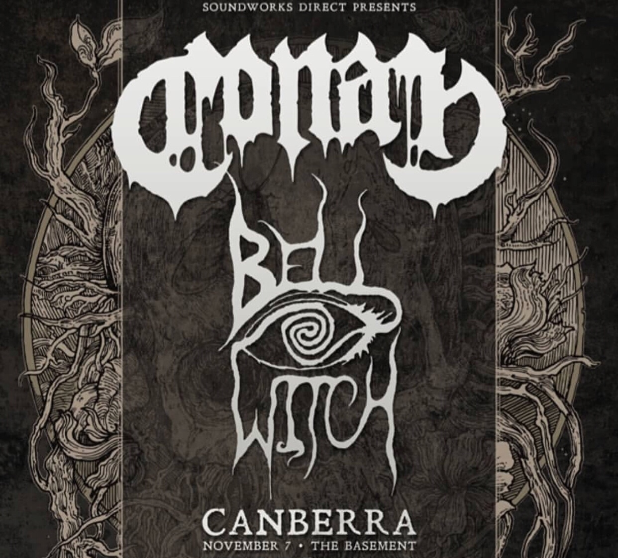 Conan Bell Witch Concert Flyer