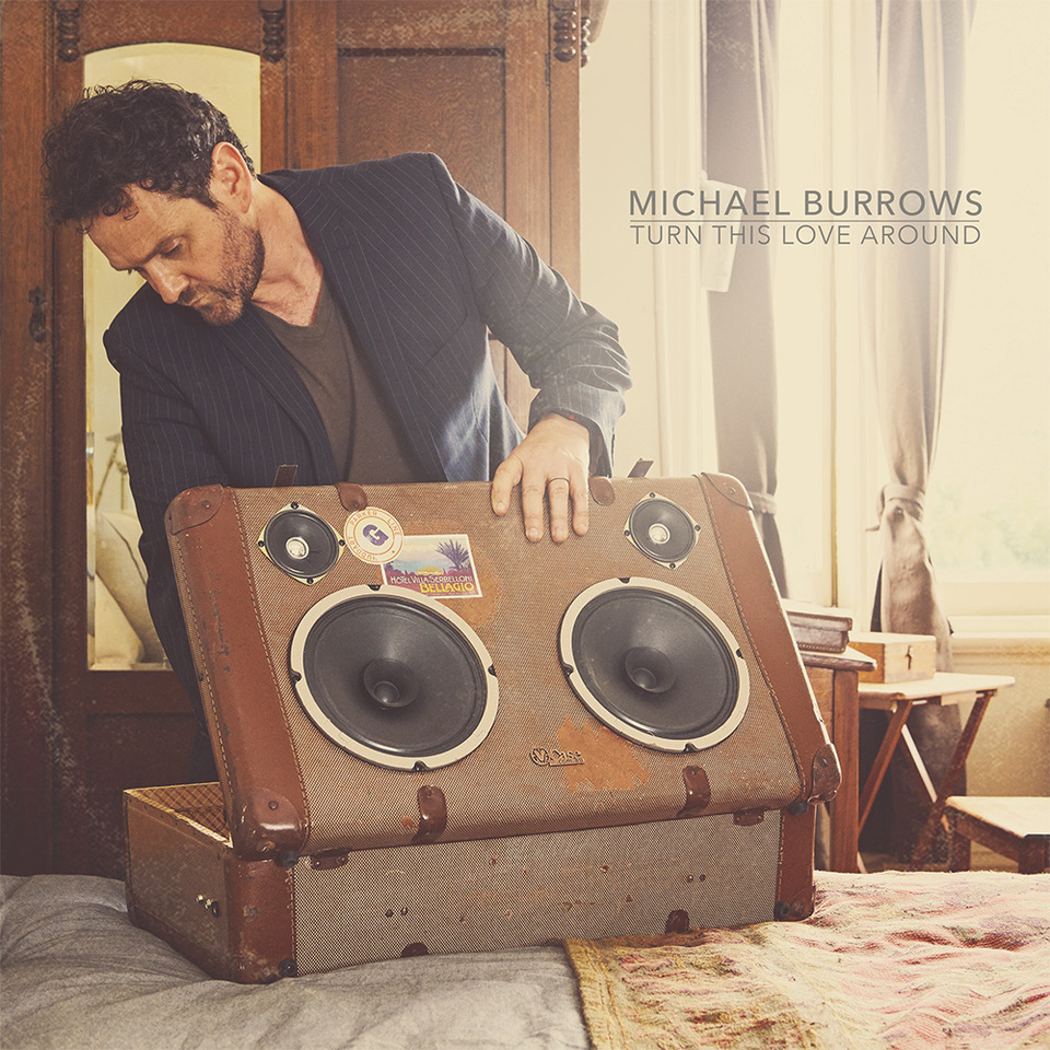 Turn This Love Around-Michael Burrows Front Cover Art copy