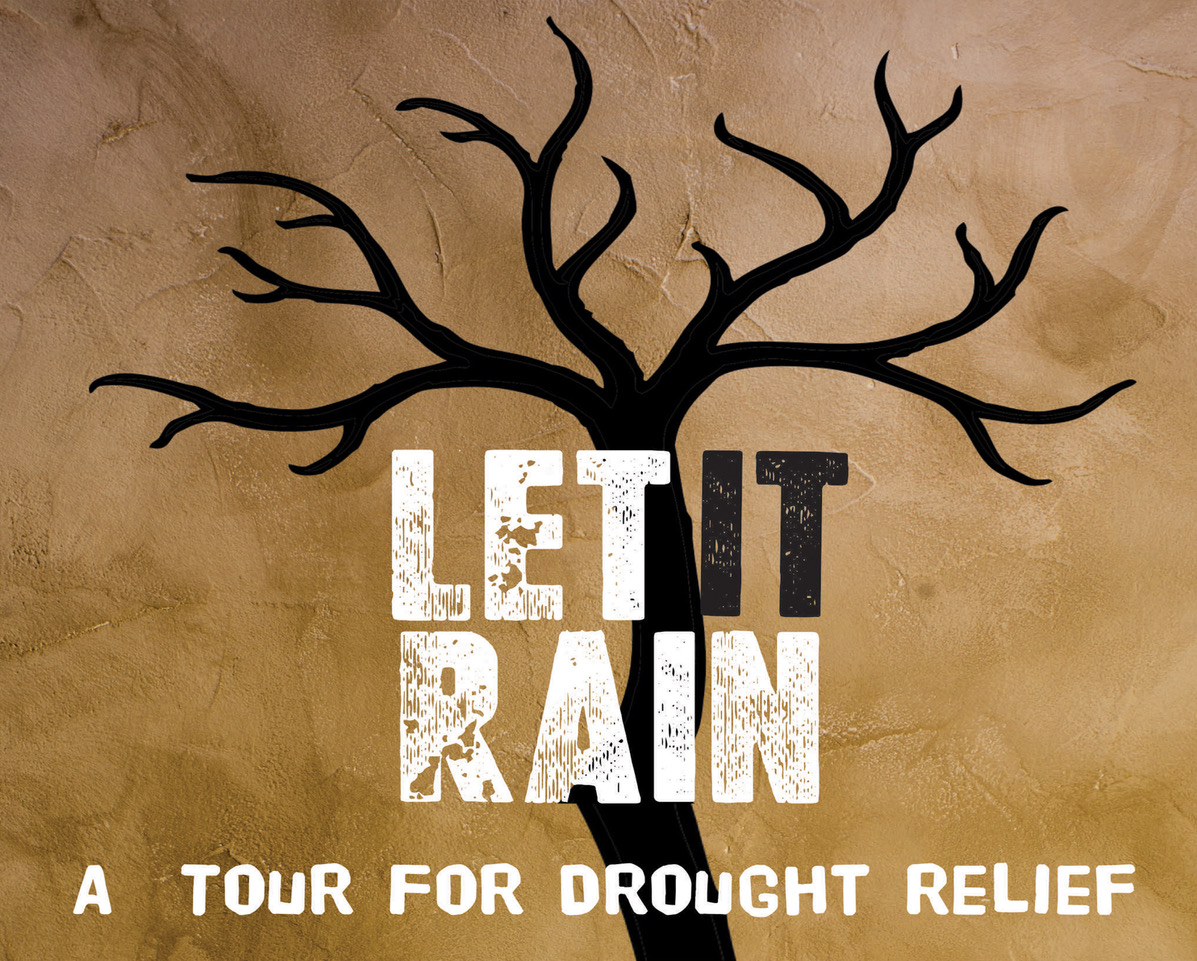 Let It Rain Tour - Michael Burrows, The Phil Edwards Band & Peter Senior Play For Drought Relief