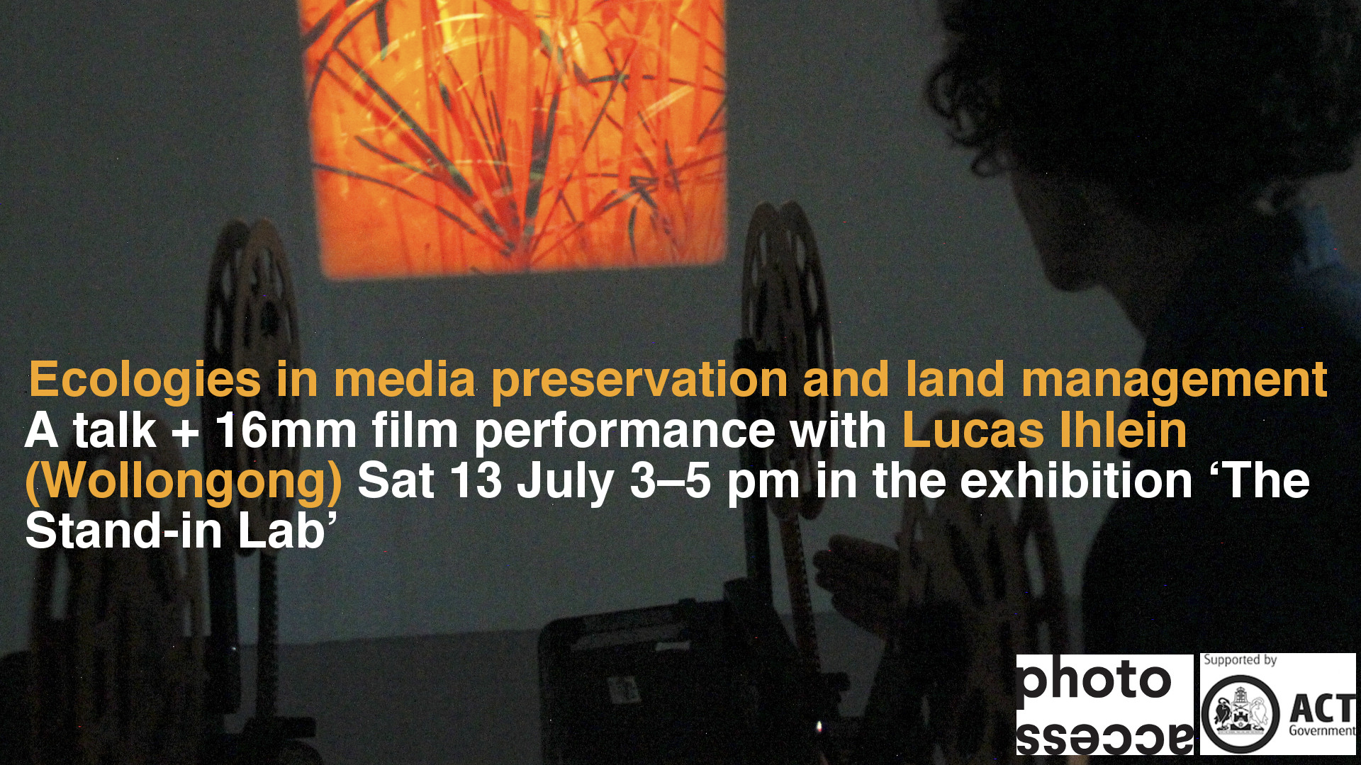 [Spotlight] The Stand-in Lab - Experimental Live This Sat 13 July - Free Event