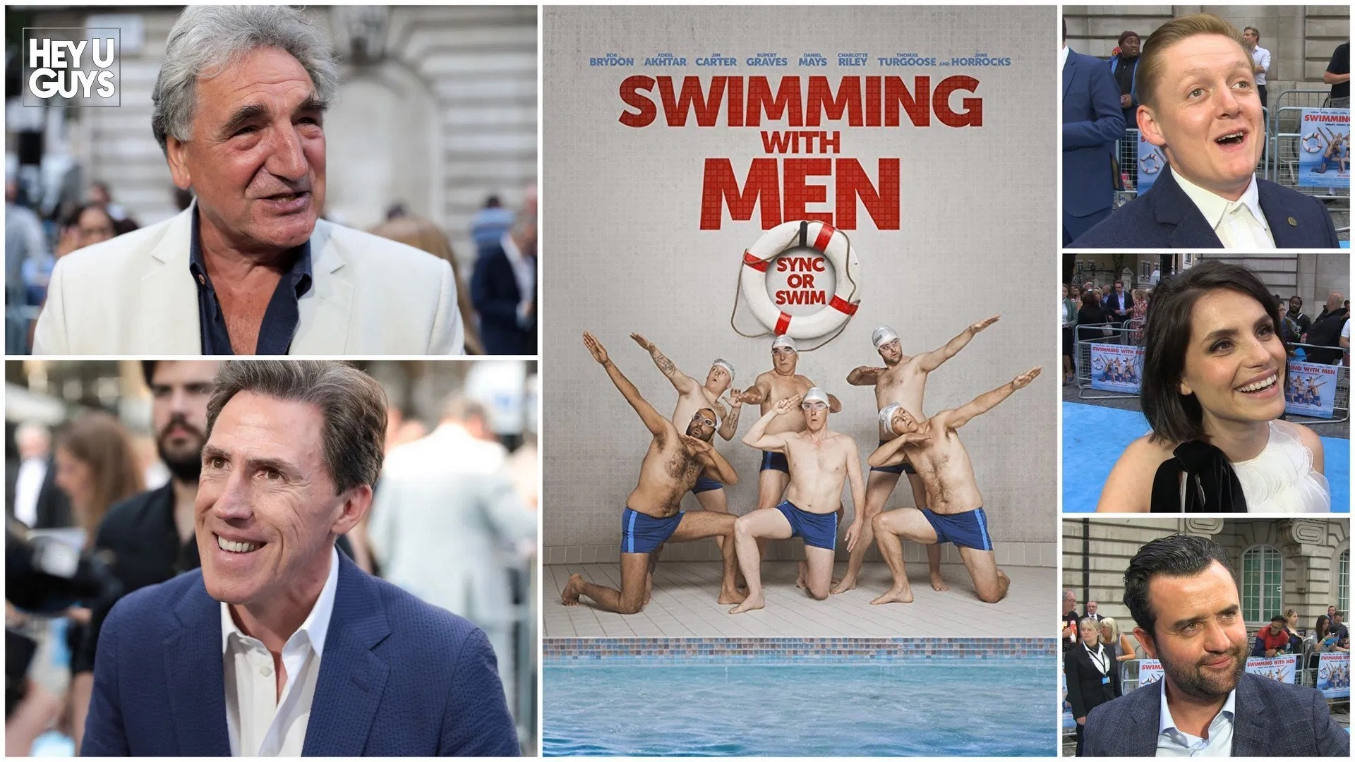 Swimming With Men — Mini British Film Festival 2018, Palace Cinemas, October–November 2018
