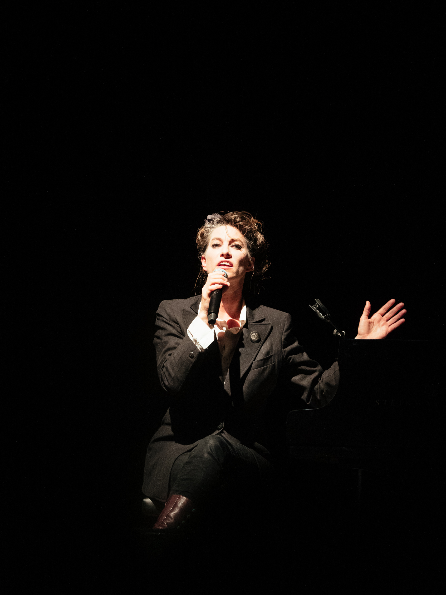 Courter of Controversy and Bearer Of Soul - Amanda Palmer Comes To Canberra