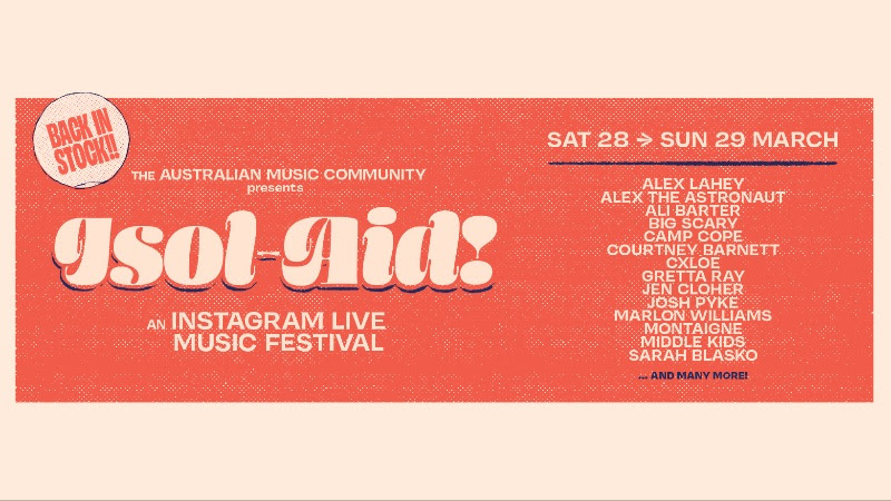 Isol-Aid Online Festival Returns This Weekend!