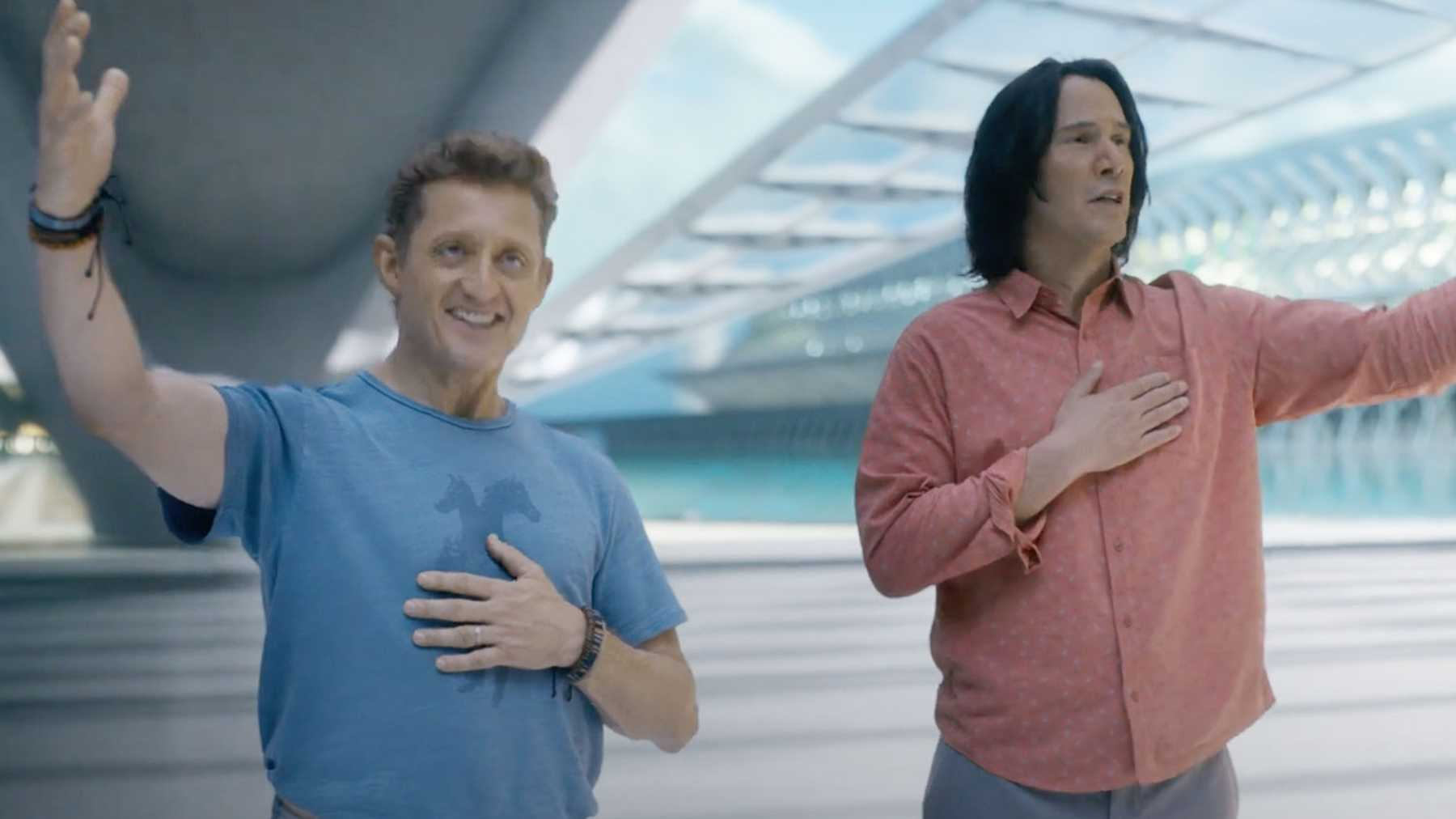 Win one of FIVE double passes to Bill & Ted Face The Music
