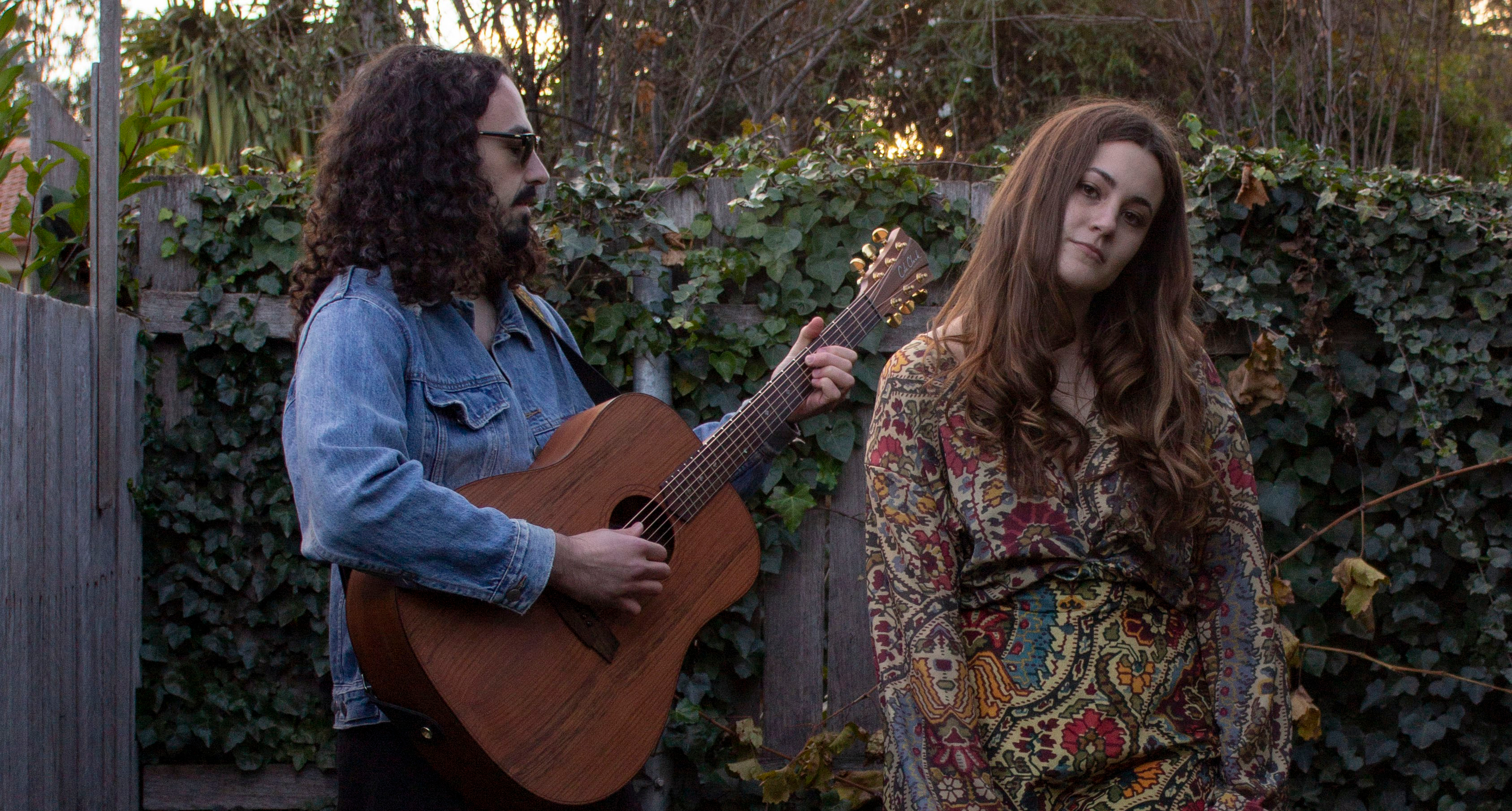 Canberra duo Skinny Wolf's debut track 'Fever' is an intriguing blend of folk-blues roots and indie dream pop that is both quiet and bewitching