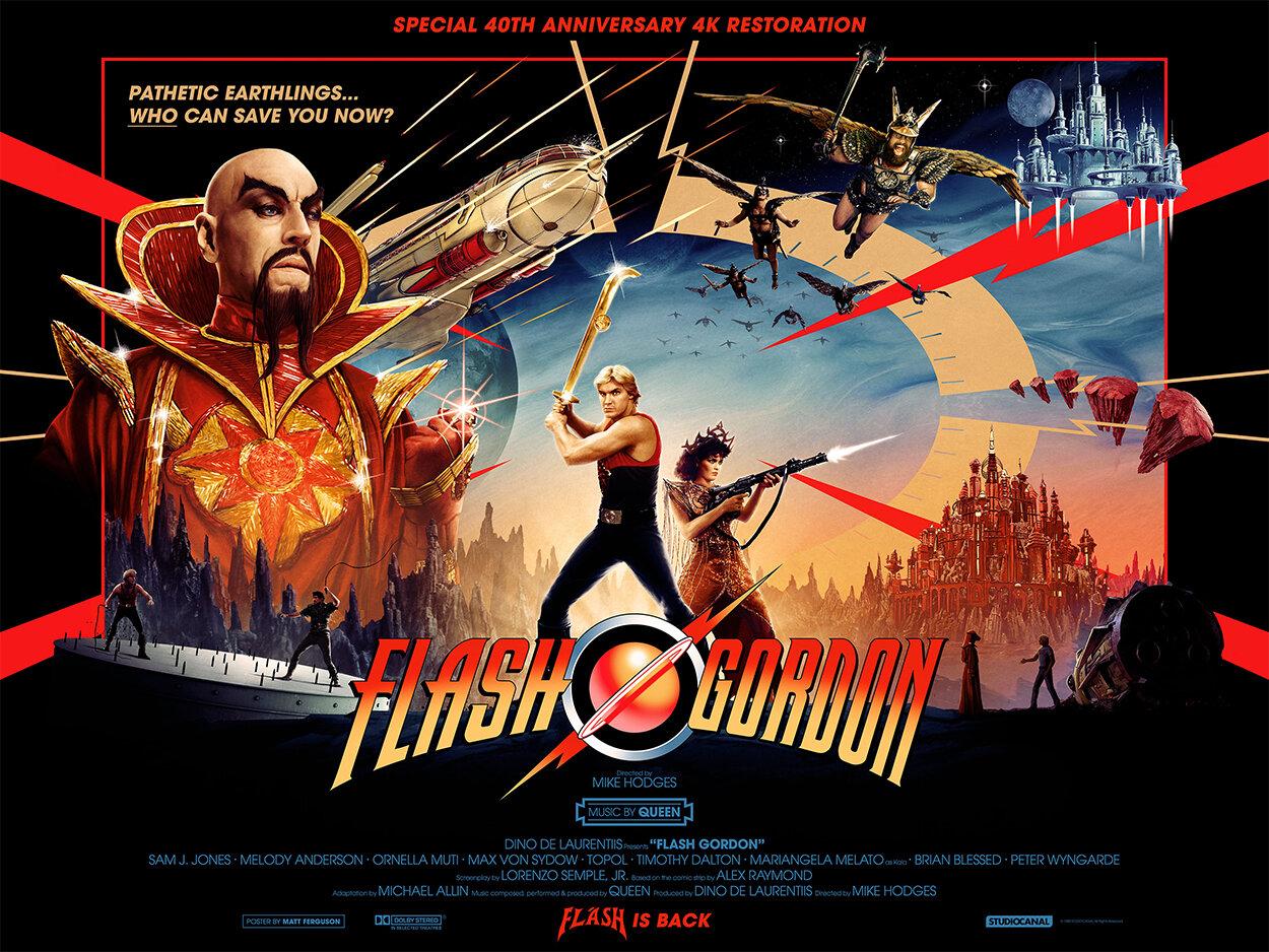 Flash Gordon — British Film Festival 2020 — Palace cinemas