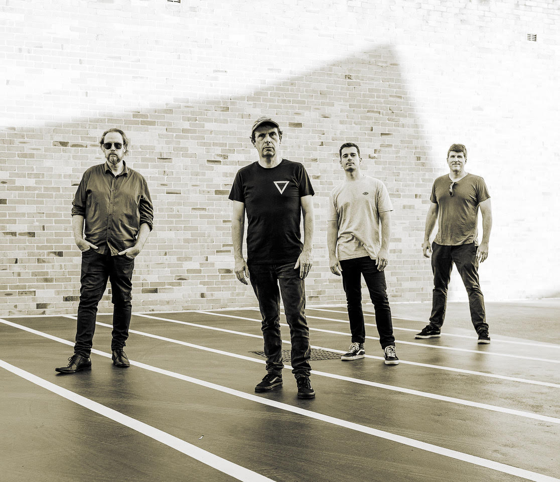 4-Piece West Sydney band JOSH ORANGE look to capture their live energy on MIDNIGHT LIGHTS