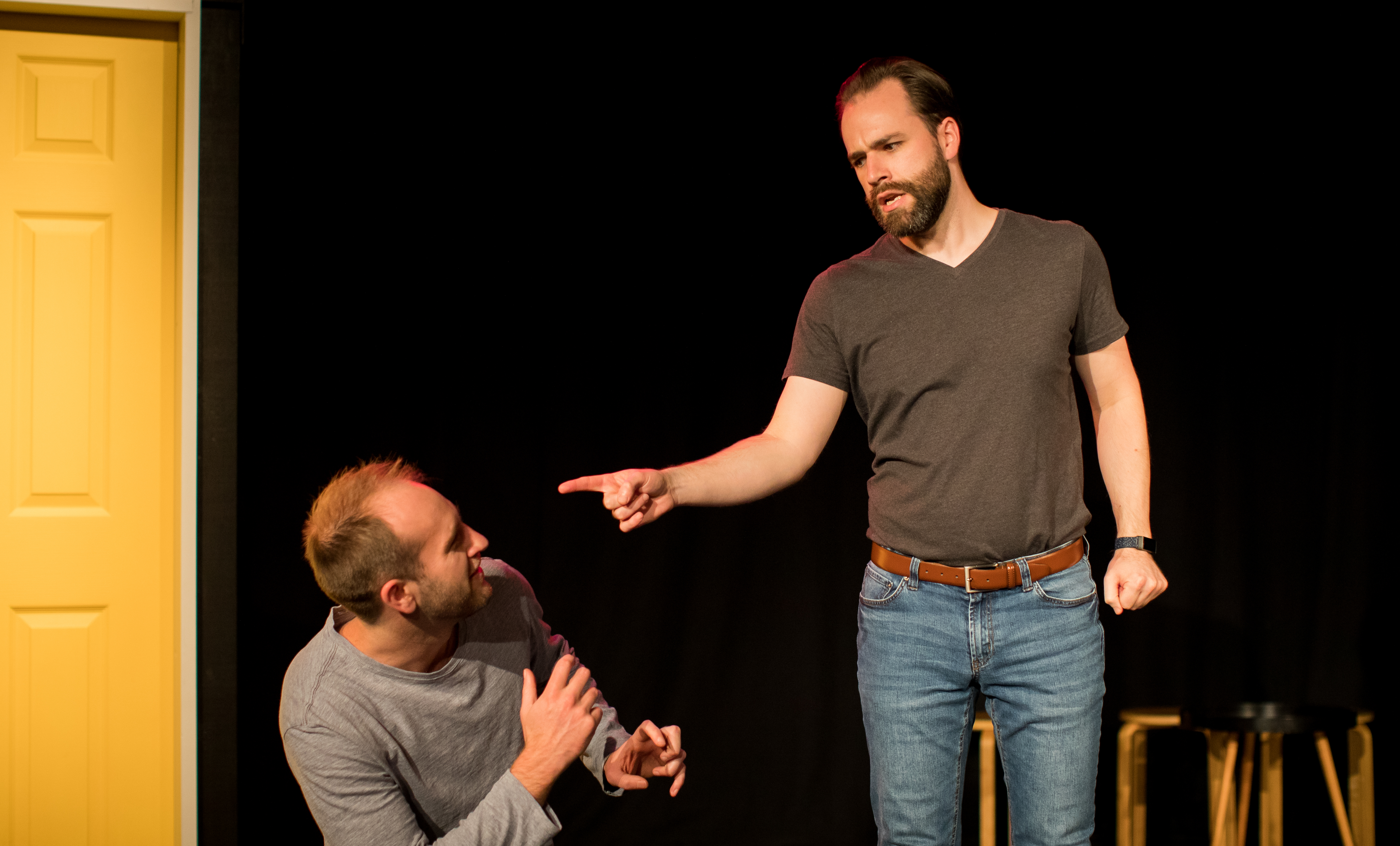 The Door — Lightbulb Improv — The Courtyard Theatre — Friday 7 to Saturday 8 May 2021